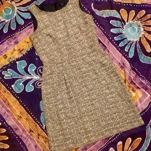 {5/$20} Tweed Textured Sheath Fit Dress Petite